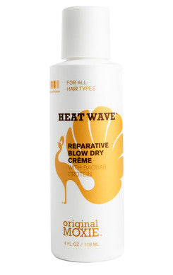 original MOXIE Heat Wave Reparative Blow Dry Creme-Curly Hair Products-ellënoire body, bath fragrance & curly hair