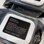 Rebels Refinery Bamboo Face & Body Wipes-Face Products-ellënoire body, bath fragrance & curly hair