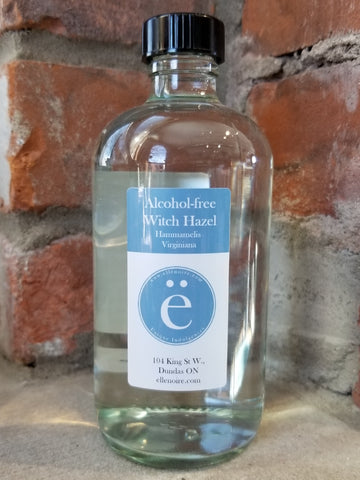 Alcohol-free Witch Hazel Toner/ Astringent-ellënoire body, bath fragrance & curly hair