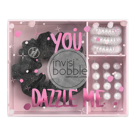 "Clearance! Invisibobble ""You Dazzle Me"" Set-ellënoire body, bath fragrance & curly hair"