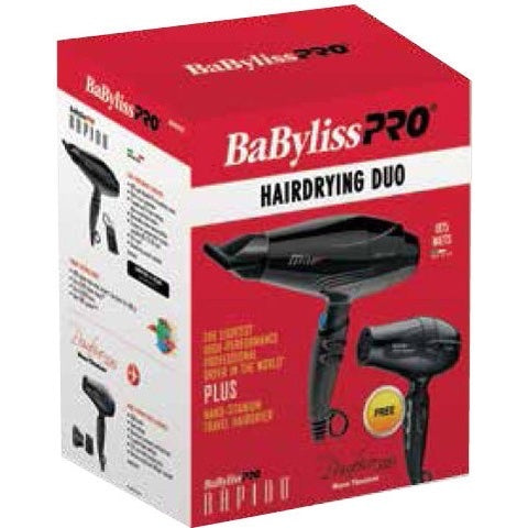 BaByliss Pro Hairdrying Duo-ellënoire body, bath fragrance & curly hair
