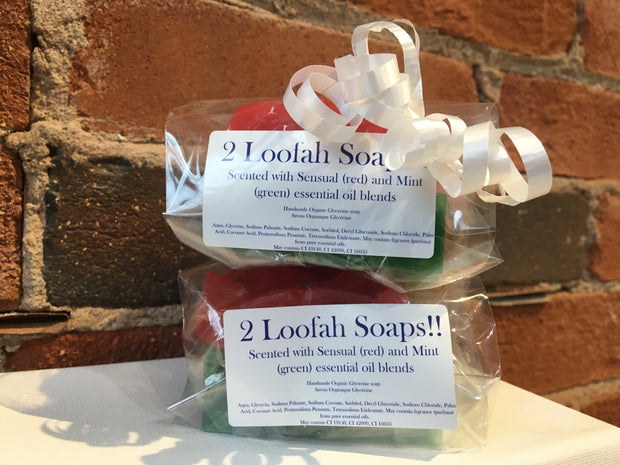 Handmade Glycerine Soap - Loofah Soap Set-Soap-ellënoire body, bath fragrance & curly hair