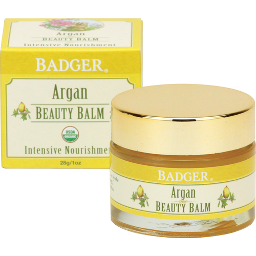 Badger Argan Beauty Balm-Face Products-ellënoire body, bath fragrance & curly hair