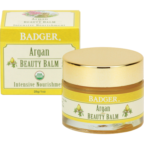 Badger Argan Beauty Balm-Badger-ellënoire body, bath fragrance & curly hair