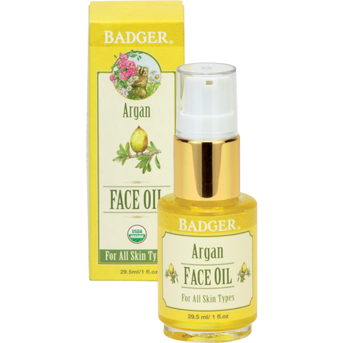 Badger Argan Face Oil-Badger-ellënoire body, bath fragrance & curly hair