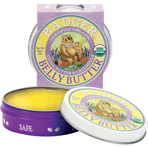 Badger Belly Butter-Mama & Baby-ellënoire body, bath fragrance & curly hair