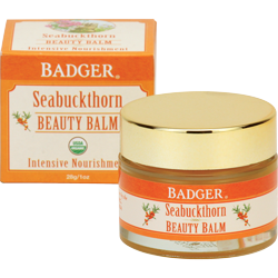 Badger Seabuckthorn Beauty Balm-Badger-ellënoire body, bath fragrance & curly hair