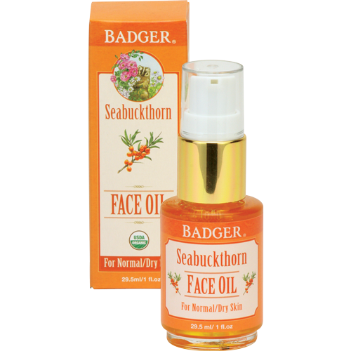 Badger Seabuckthorn Face Oil-Badger-ellënoire body, bath fragrance & curly hair
