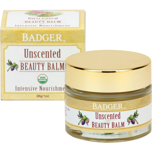 Badger Unscented Beauty Balm-Face Products-ellënoire body, bath fragrance & curly hair