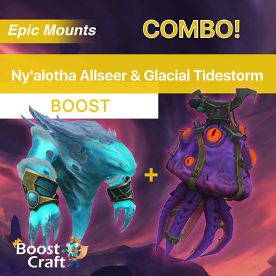 Jaina and N'zoth mount for sale