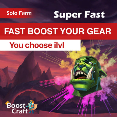 Wow gear boost improve 130 ilvl boost