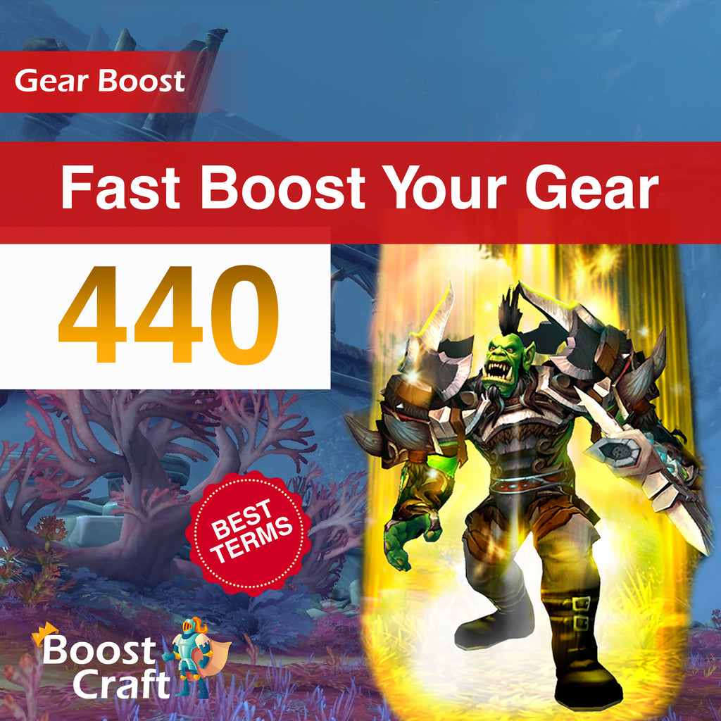 Fast Gear Improve - 440ilvl Boost