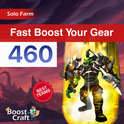 Buy WoW 460 item level boost gearing