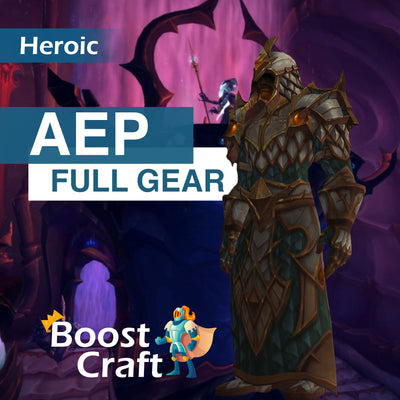 Azshara's Eternal Palace (AEP) HEROIC FULL GEAR - Boost