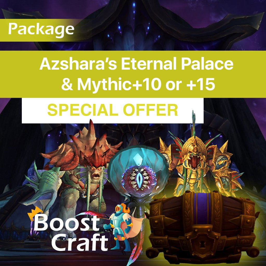 WoW MYTHIC+ BOOST WOW RAID BOOST