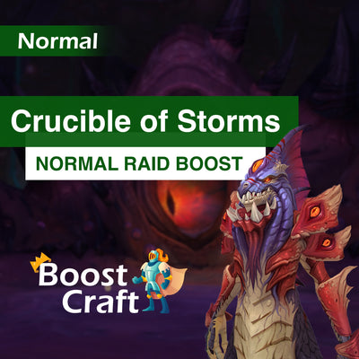 Crucible of Storms (CoS) Normal Loot run - Boost