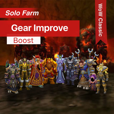 WoW Classic - Gear improve - Classic Gearing Boost