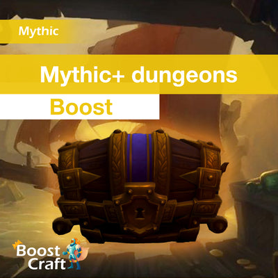 Mythic+ dungeons Boost, Mythic +10 +15 +20 for Weekly Chest