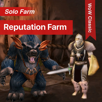 WoW Classic - Reputation Farm - Boost