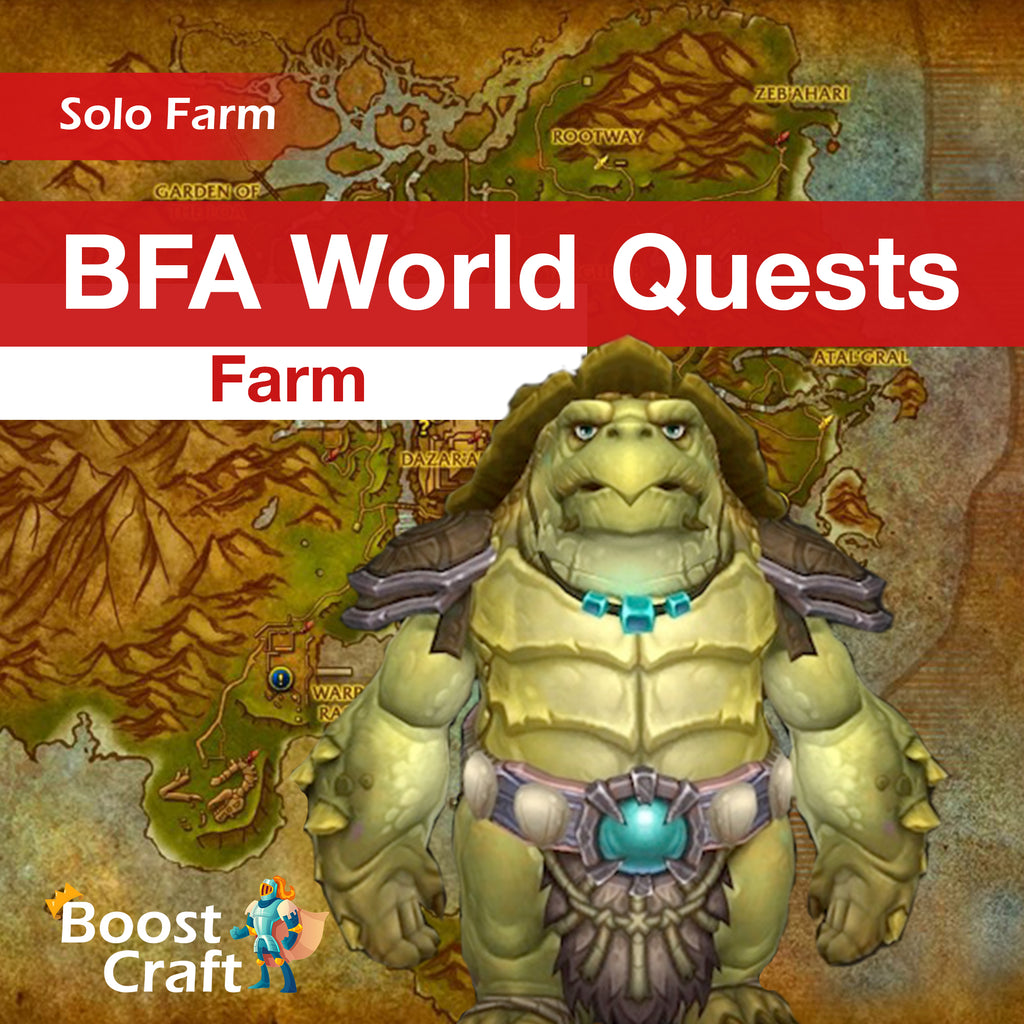 BFA WQ (world quests) Farm