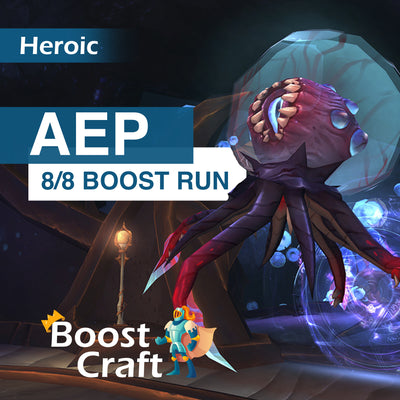 Azshara's Eternal Palace HEROIC Boost - (AEP full 8/8 loot run)