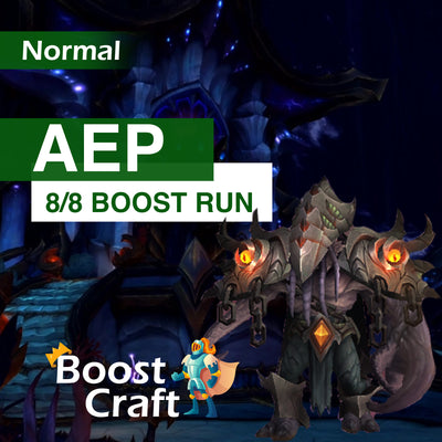 Azshara's Eternal Palace NORMAL Boost - (AEP full 8/8 loot run)