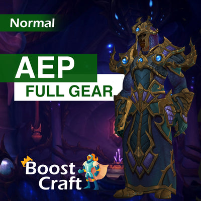 Azshara's Eternal Palace (AEP) Normal FULL GEAR - Boost