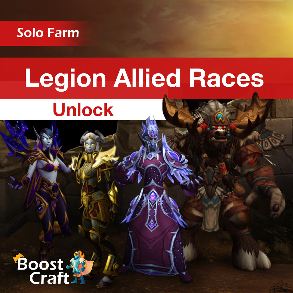 Legion Allied Races - Unlock Boost
