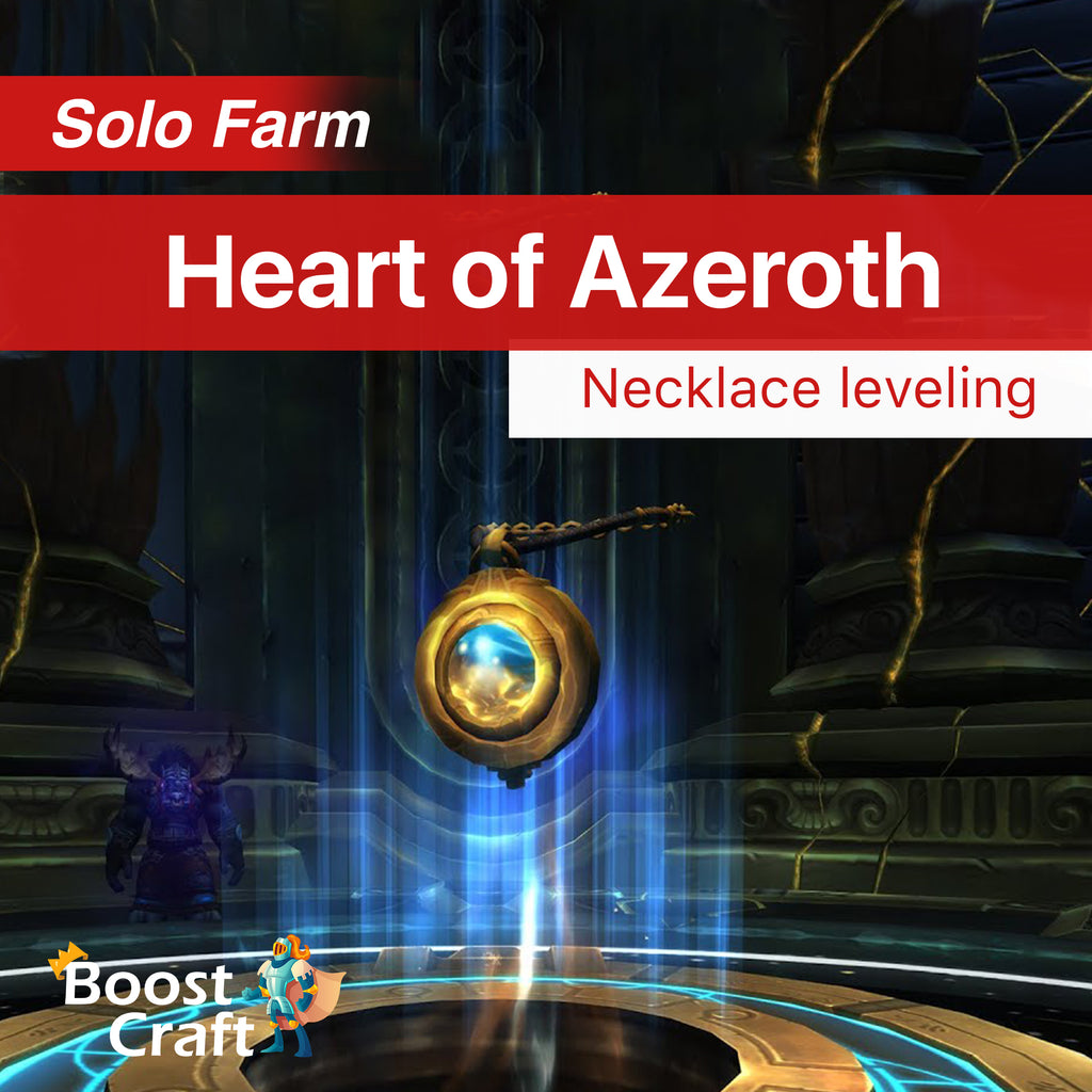 buy neck level azeroth boost