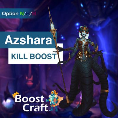 Buy Queen Azshara kill boost