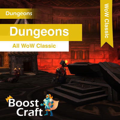 WoW Classic - Dungeons Boost