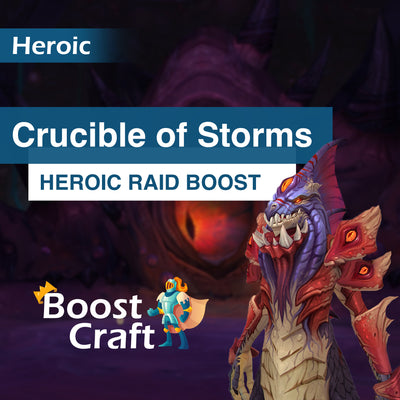Crucible of Storms (CoS) Heroic Loot run - Boost