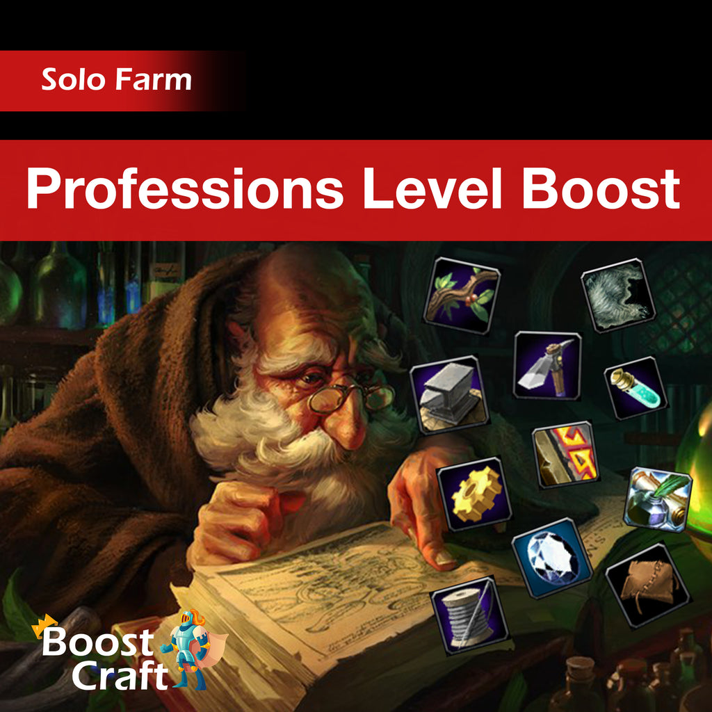 Professions Level Boost (Coming back soon)