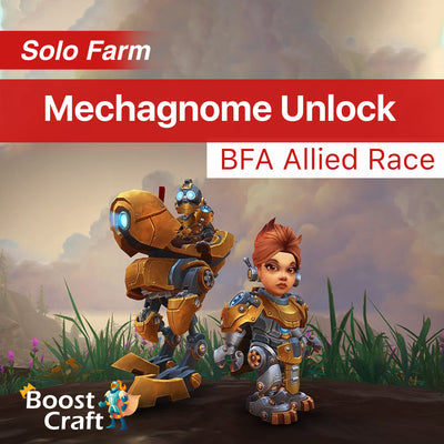Mechagnome race Unlock - BFA Allied Race