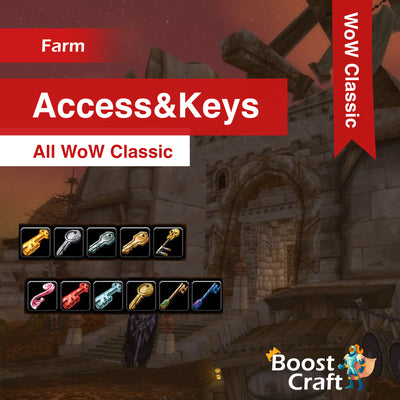 WoW Classic - Access & Keys