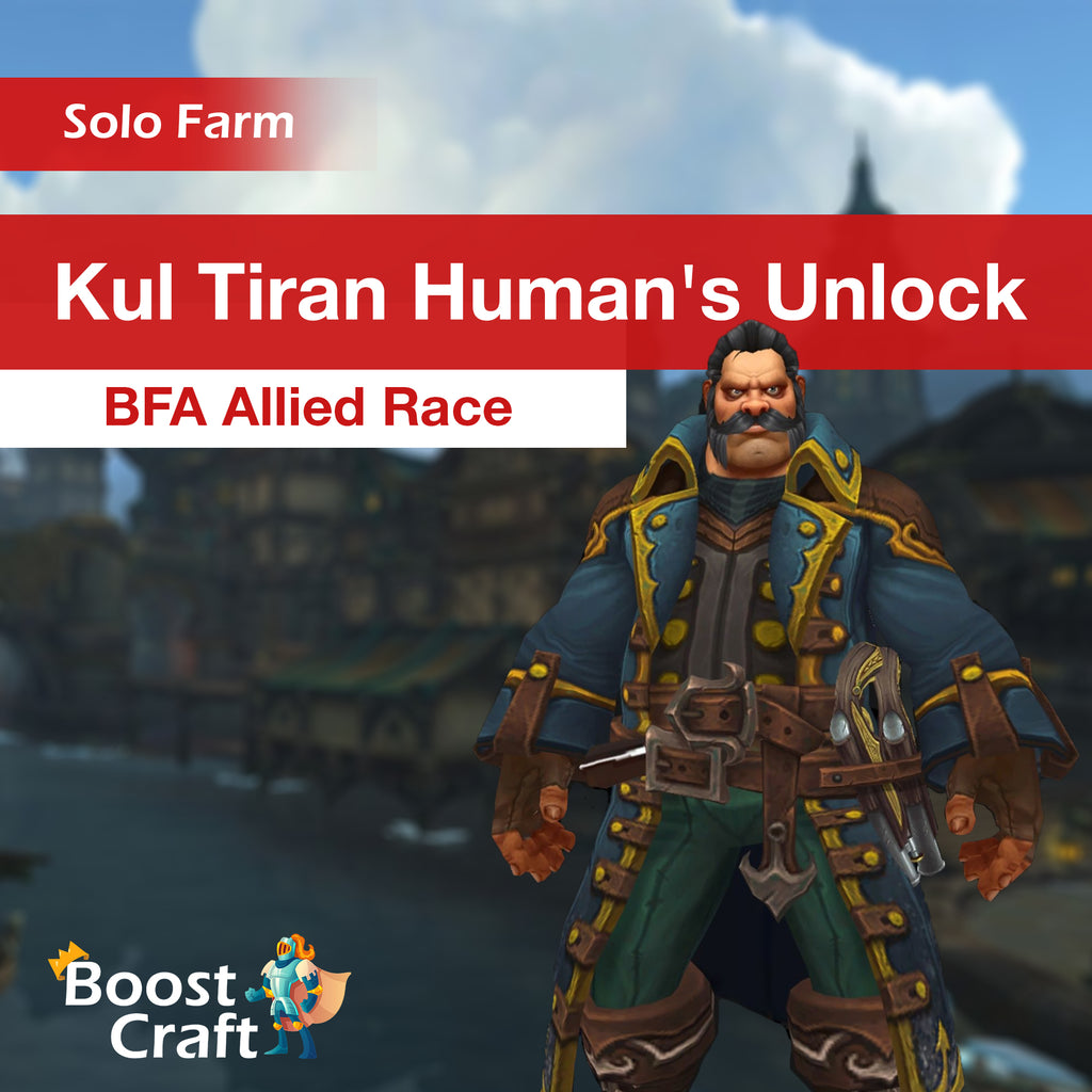 Kul Tiran Humans Unlock - BFA Allied Race