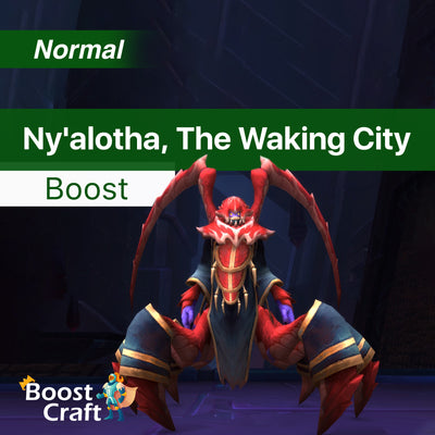 Ny'alotha, The Waking City Normal Full 12/12 Loot Run - Raid Boost Carry