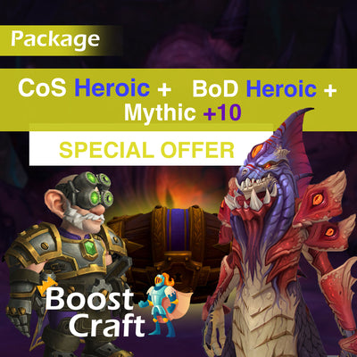 CoS & BoD heroic package (FREE Mythic +10) - Boost