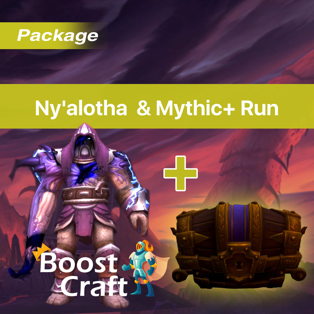 Boost ny alotha & mythic+ run