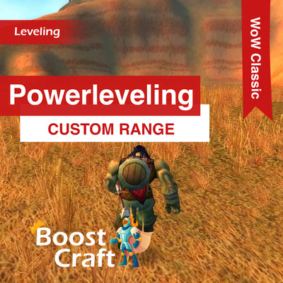WoW Classic - Custom Powerleveling Range Boost