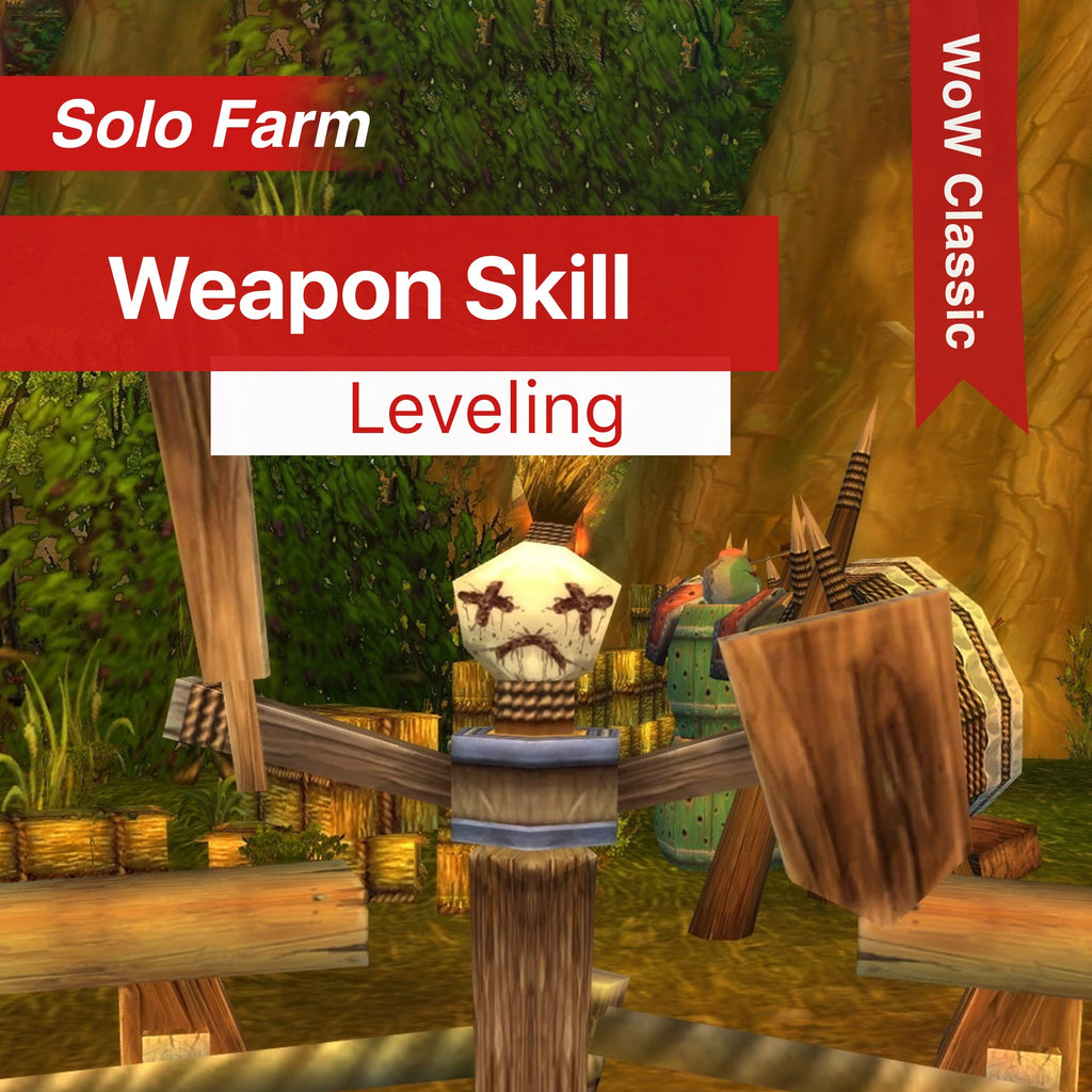 Buy WoW Classic - Weapon Skill Leveling - Boost