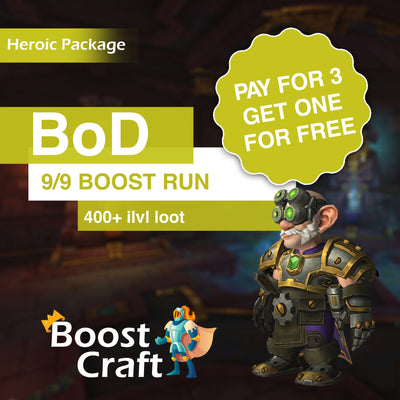 PAY FOR THREE GET ONE FREE - BoD (heroic) Special Package
