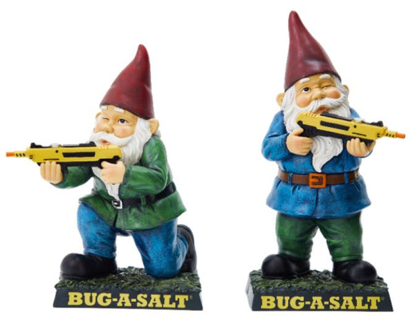 The BUG-A-SALT Garden Gnomes