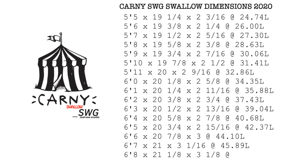 Carny SW Swallow