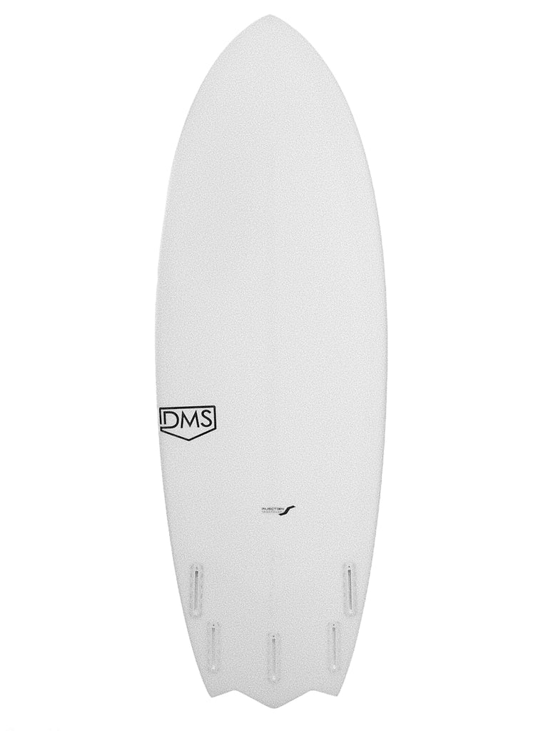 GHERKIN 5'8 X 21 1/4 X 2 7/8 @39.83L @L FUTURESX5 INJECTION TECH #856