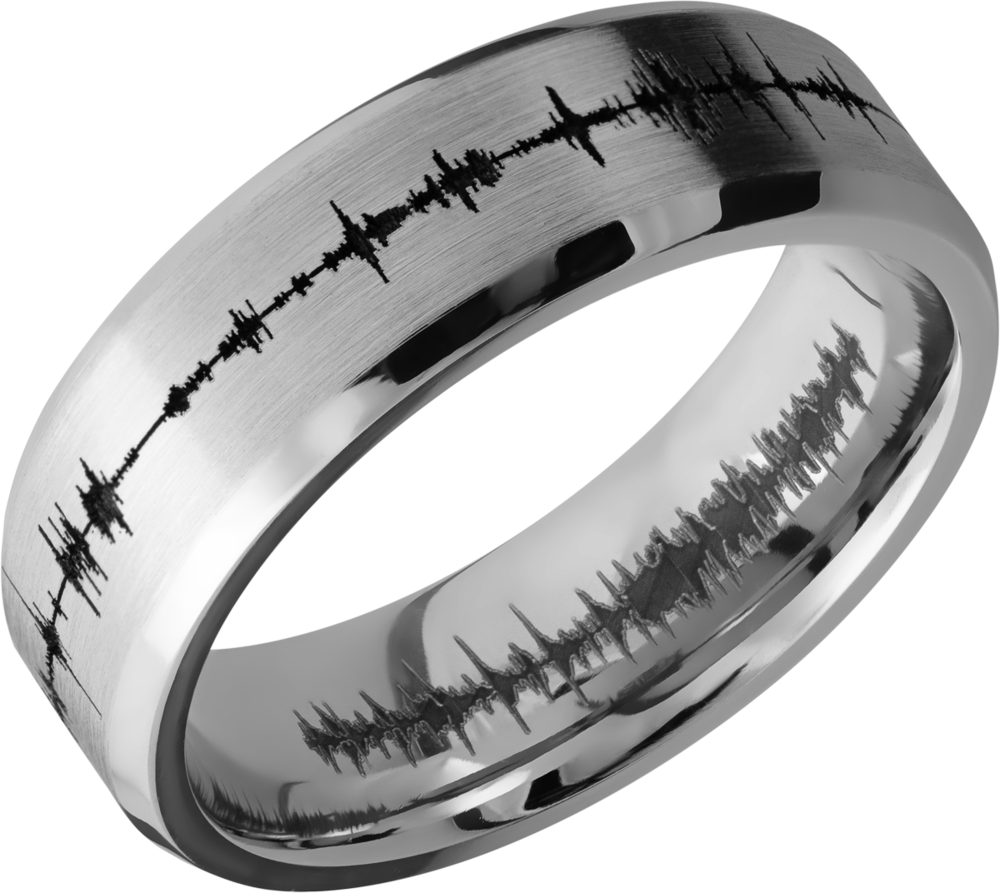 lashbrook classic cobalt chrome 7mm beveled band cc7b_lcvsoundwave+satin_polish