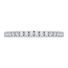 Load image into Gallery viewer, CA0069B-37W Bridal Jewelry Carizza White Gold Diamond Wedding Bands