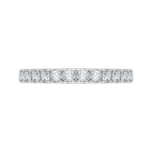 CA0071B-37W Bridal Jewelry Carizza White Gold Diamond Wedding Bands