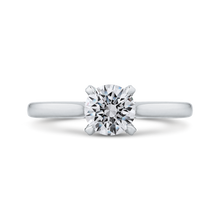 Load image into Gallery viewer, CA0240E-37W-.75 Bridal Jewelry Carizza White Gold Round Diamond Engagement Rings