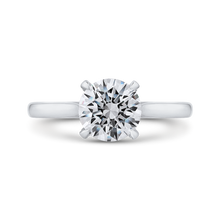 Load image into Gallery viewer, CA0240E-37W-1.50 Bridal Jewelry Carizza White Gold Round Diamond Engagement Rings